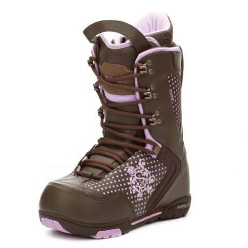 Picture of silence women's snowboarding boots.