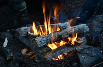 How hot is a campfire?