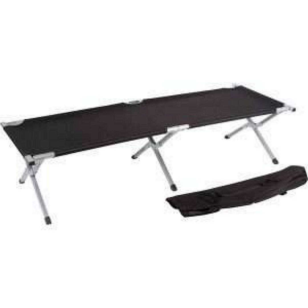 trademark innovations 75 portable folding camping bed-n-cot