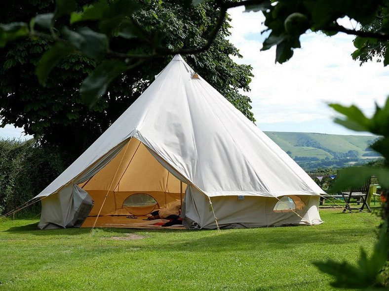 Traditional Canvas Bell Tent