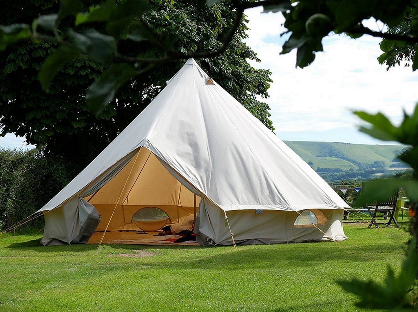 Traditional Canvas Bell Tent Top 8 Canvas Tents for All Seasons and for All Climates
